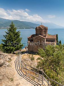 Sveti Johan in Ohrid       http://realhousewifeofbelgrade.com/2011/05/22/church-on-sunday-sveti-jovan-macedonia/